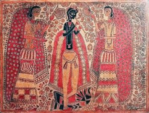 Ancient Indian Culture Paintings