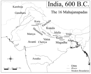Empires of Ancient India Mahajanapadas
